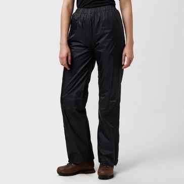 b7e4d657c773e Black PETER STORM Women's Tempest Waterproof Trousers ...