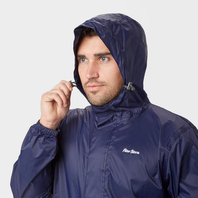 New Peter Storm Men's Packable Hardwearing Waterproof Cagoule