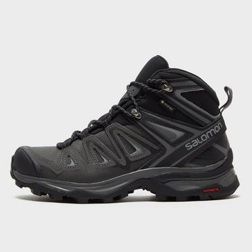 Black Salomon Women's X Ultra 3 Mid GORE-TEX® Walking Boot