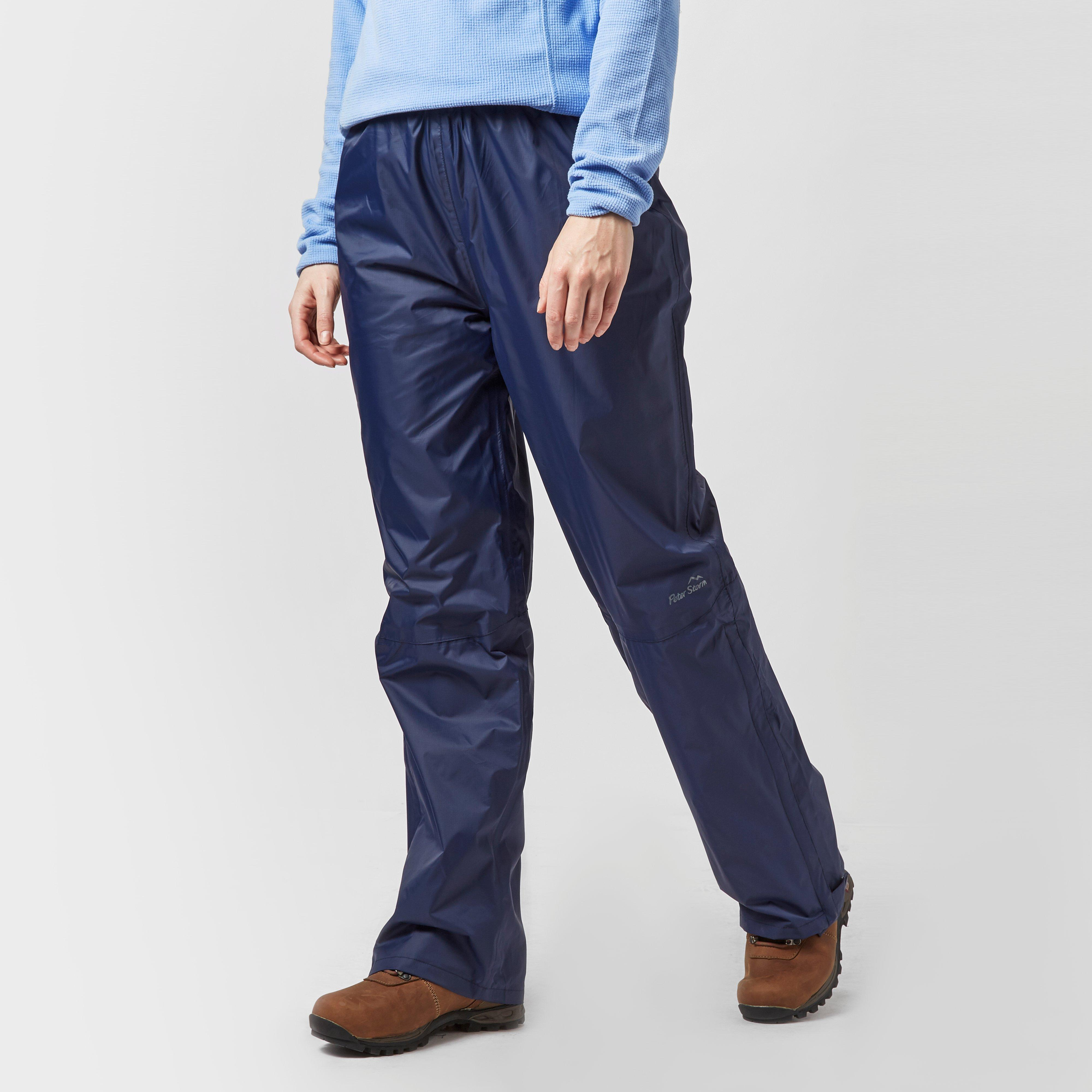 Peter Storm Peter Storm womens Tempest Waterproof Trousers - Navy, Navy
