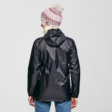 Black Peter Storm Women's Packable Hooded Jacket