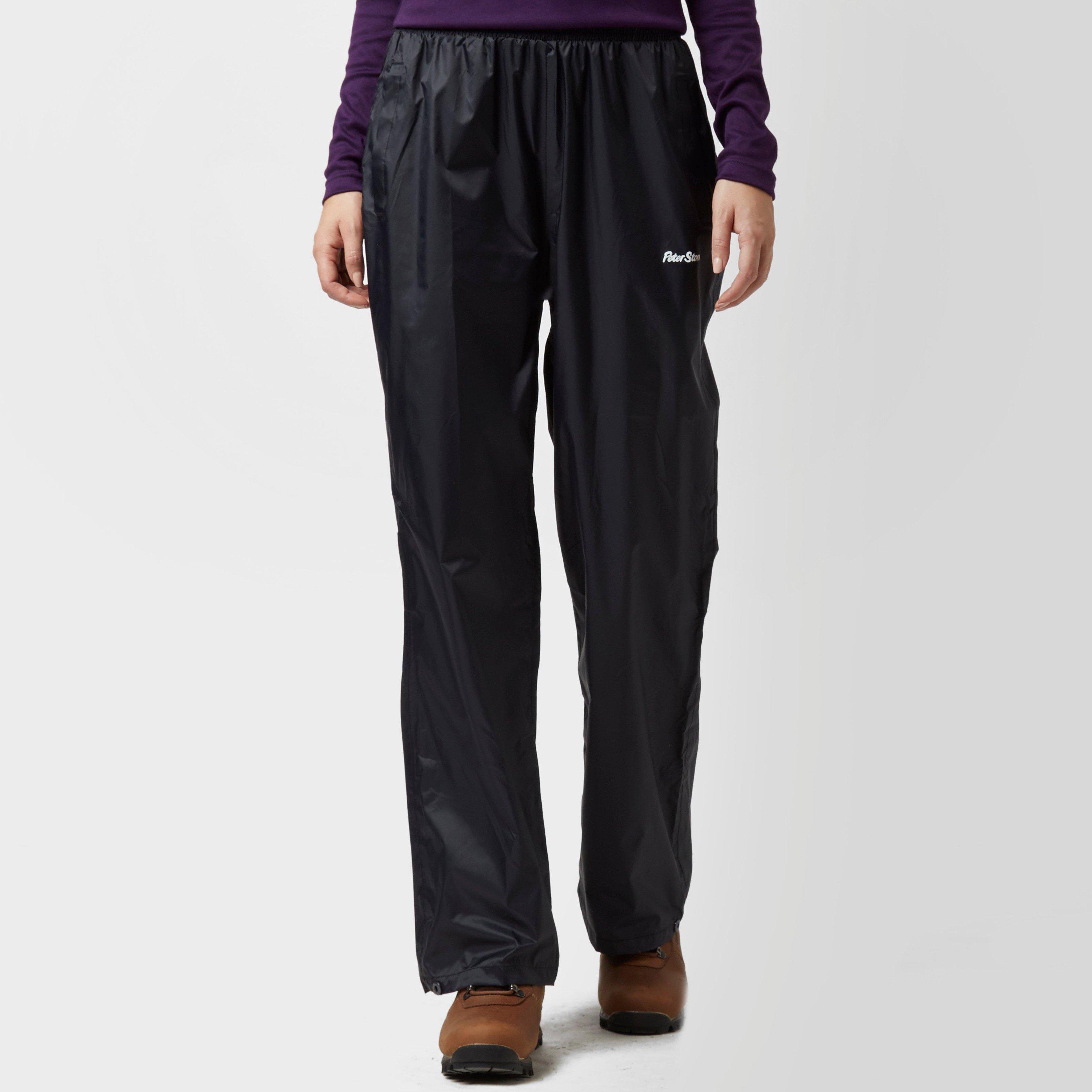 Peter Storm Peter Storm womens Packable Pants - Black, Black