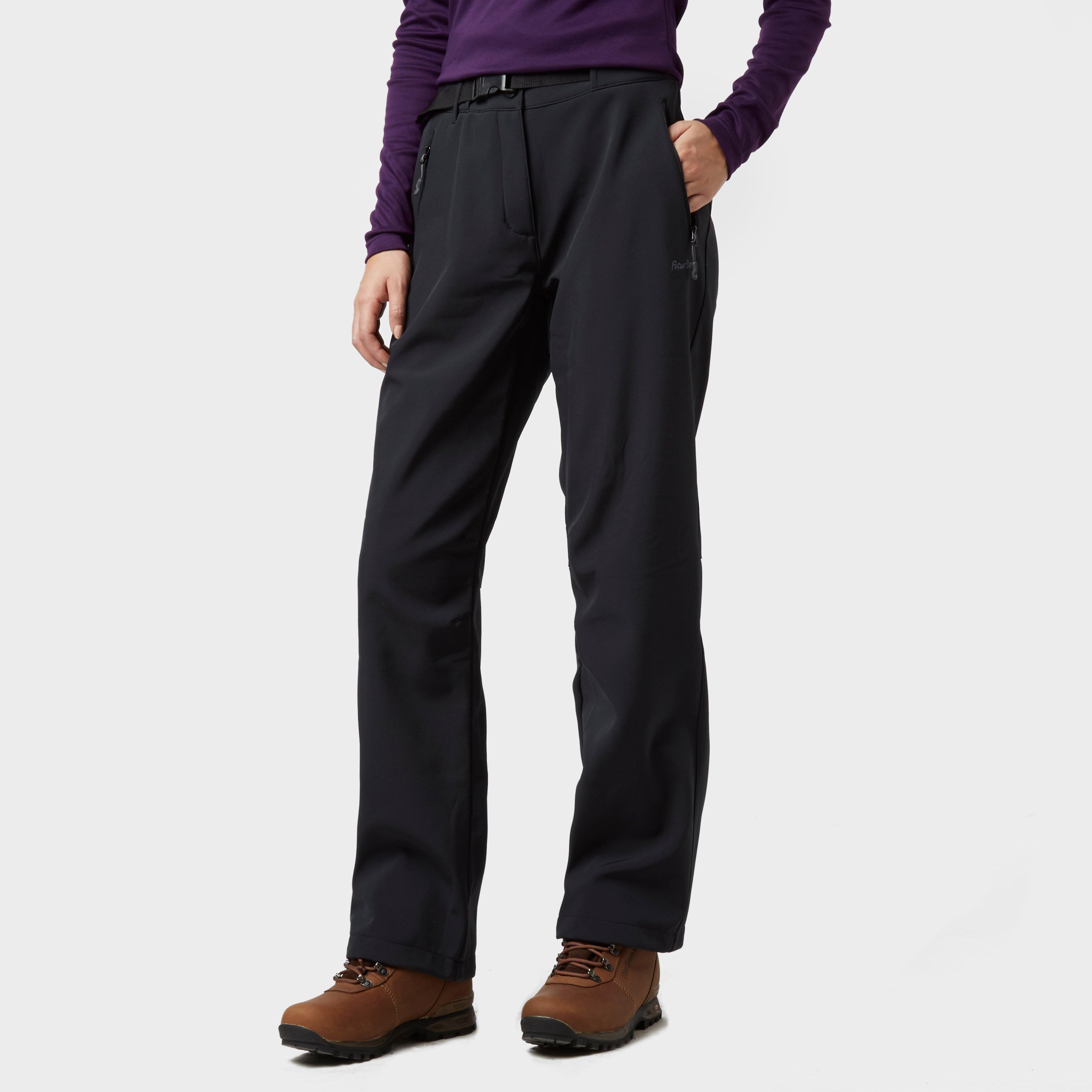 Peter Storm Peter Storm womens Softshell Trousers - Black, Black