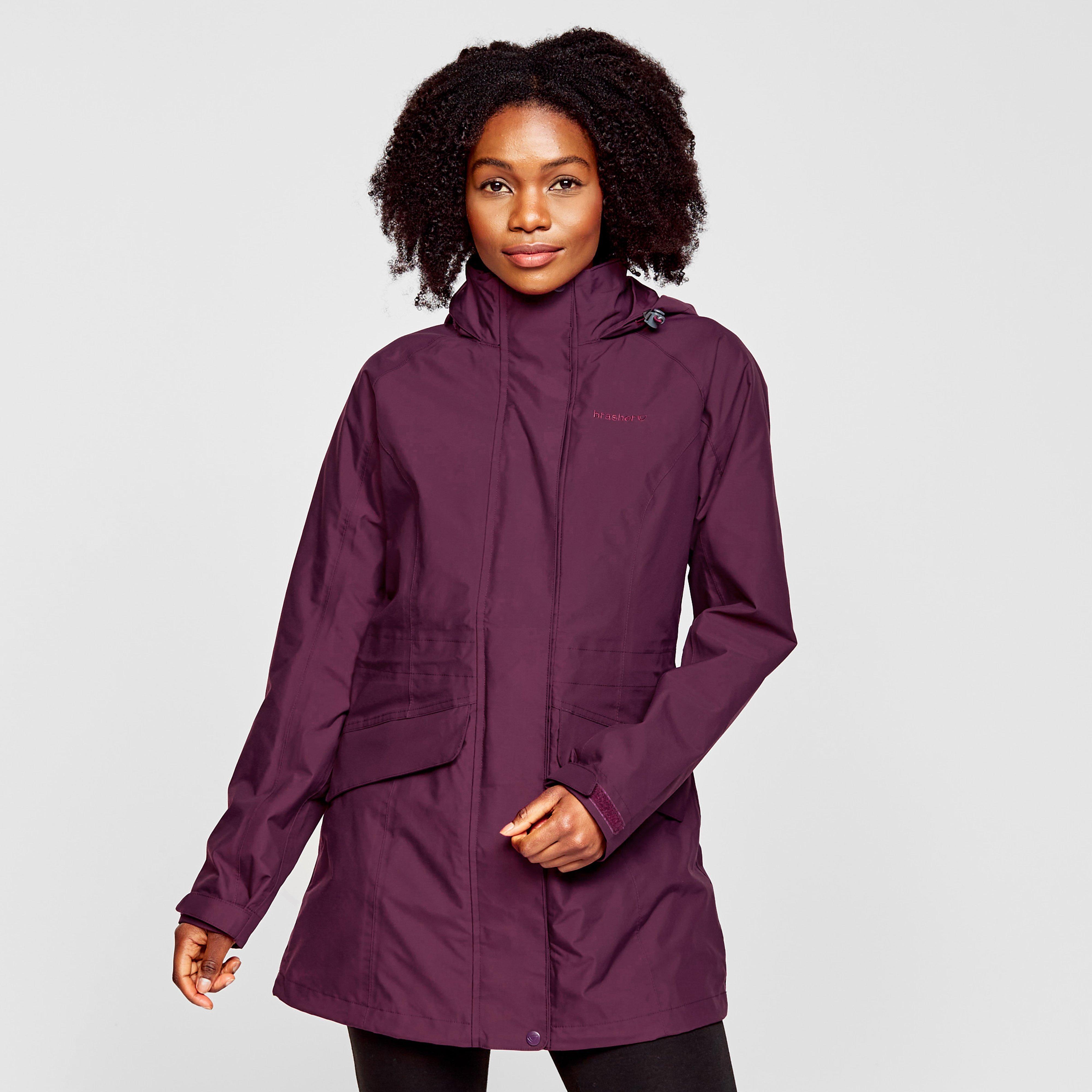 Brasher Women's Grisedale Waterproof Jacket - Purple, Purple