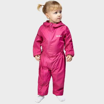 Pink Peter Storm Kid's Waterproof Suit