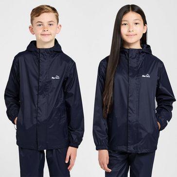 2ef77adc6a Navy PETER STORM Kids  Unisex Packable Waterproof Jacket ...