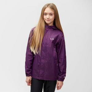 PETER STORM Girls' Hooded Packable Waterproof Jacket