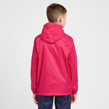 Pink Peter Storm Kids' Packable Waterproof Jacket