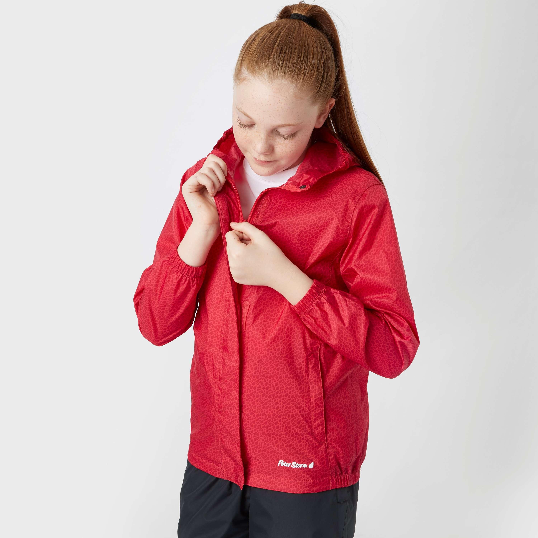 PETER STORM Girls' Pattern Packable Jacket