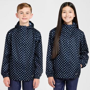 Blue Peter Storm Kids' Pattern Packable Jacket