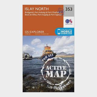 Explorer Active 353 Islay North Map With Digital Version