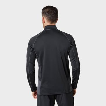 Black Berghaus Men's Tech ¼ Zip T-Shirt