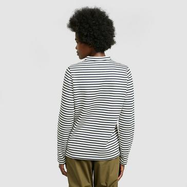 Black/White Craghoppers Women's Balmoral Crew Sweater