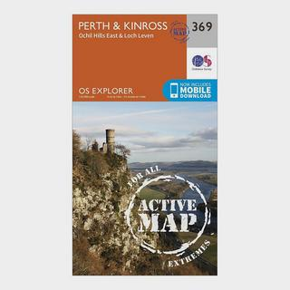 Explorer Active 369 Perth & Kinross Map With Digital Version