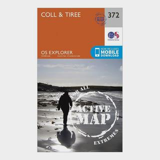 Explorer Active 372 Coll & Tiree Map With Digital Version