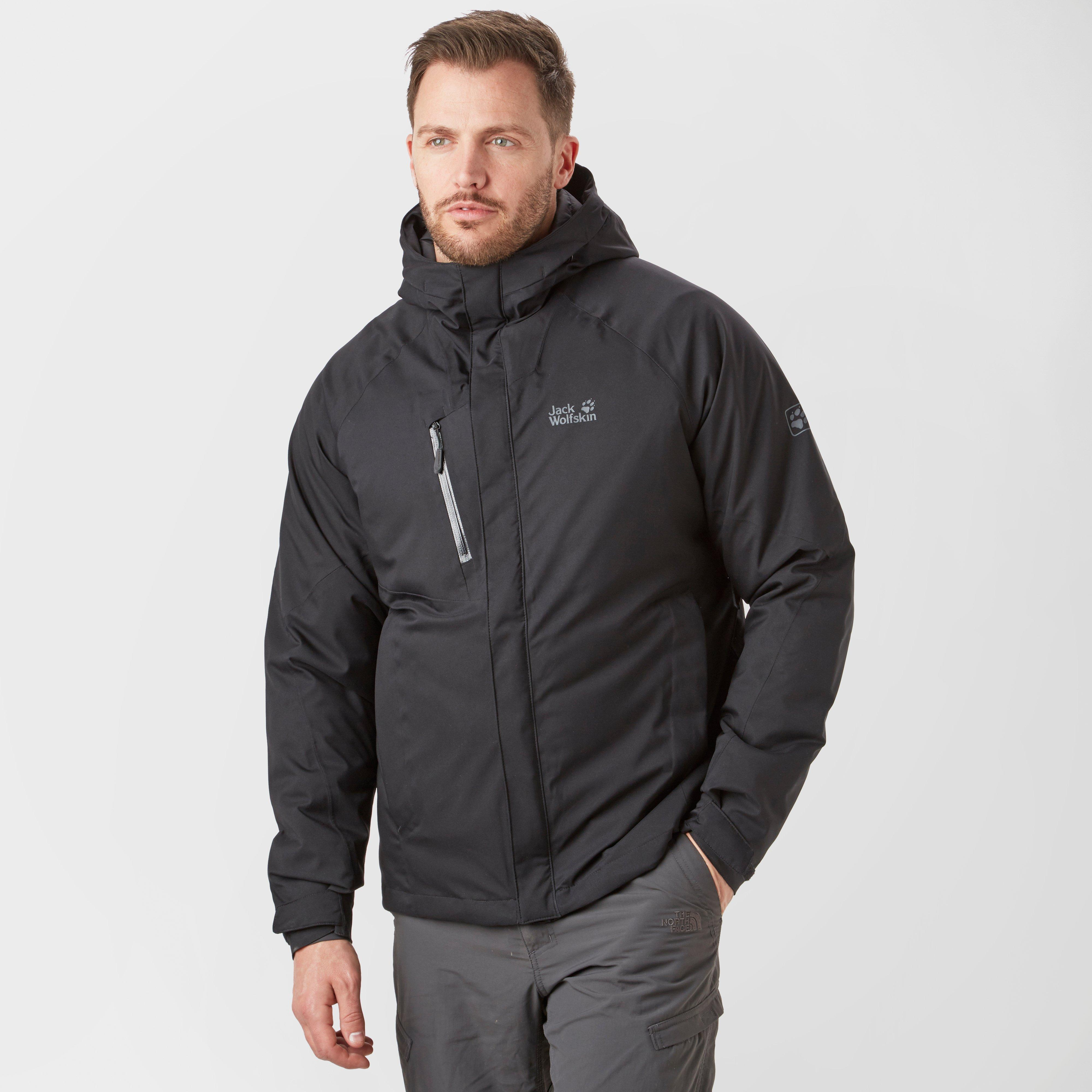 5507c2ec25 Jack Wolfskin Men's Troposphere Jacket, Black