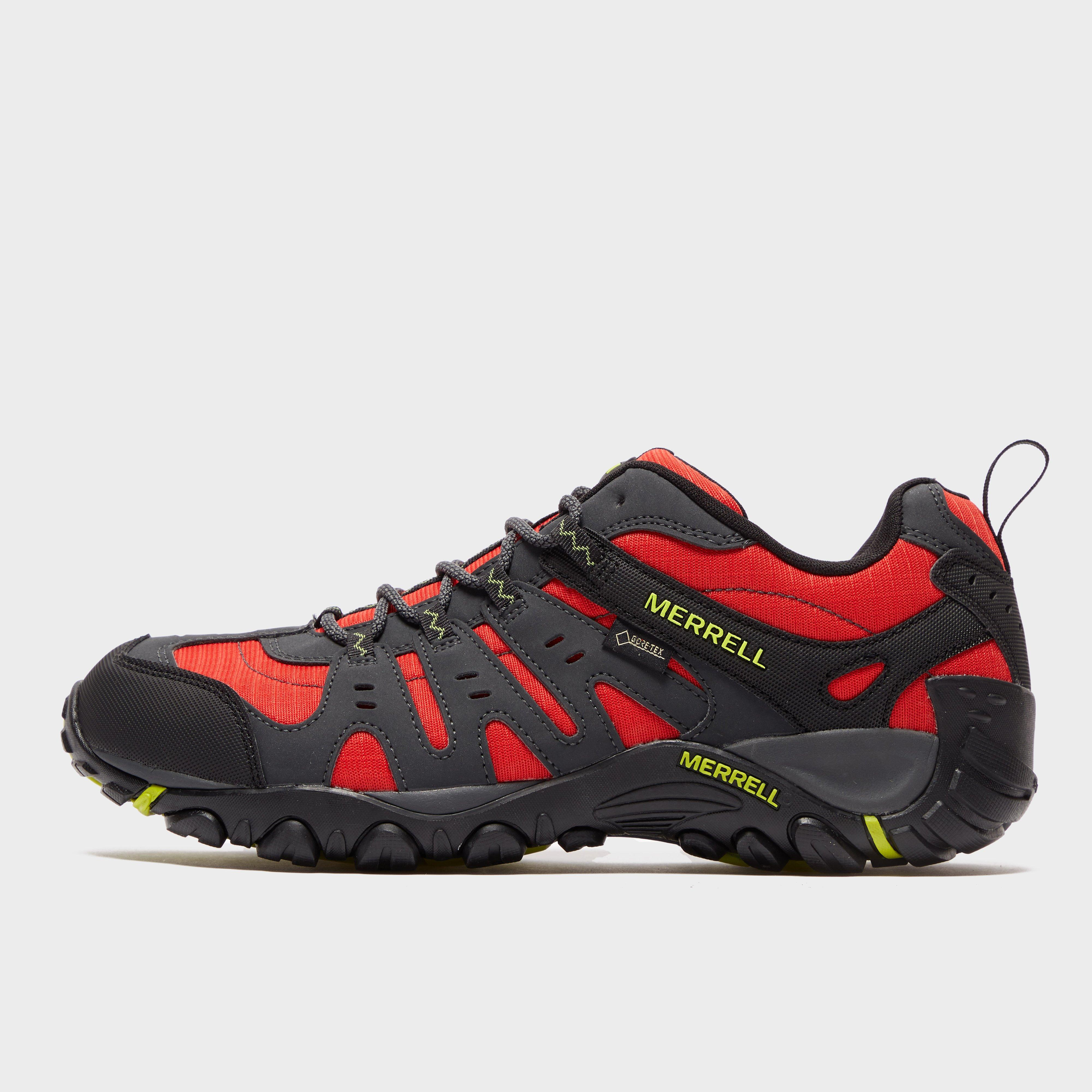 Merrell Merrell Mens Accentor Sport GORE-TEX Trail Shoes - Red, Red