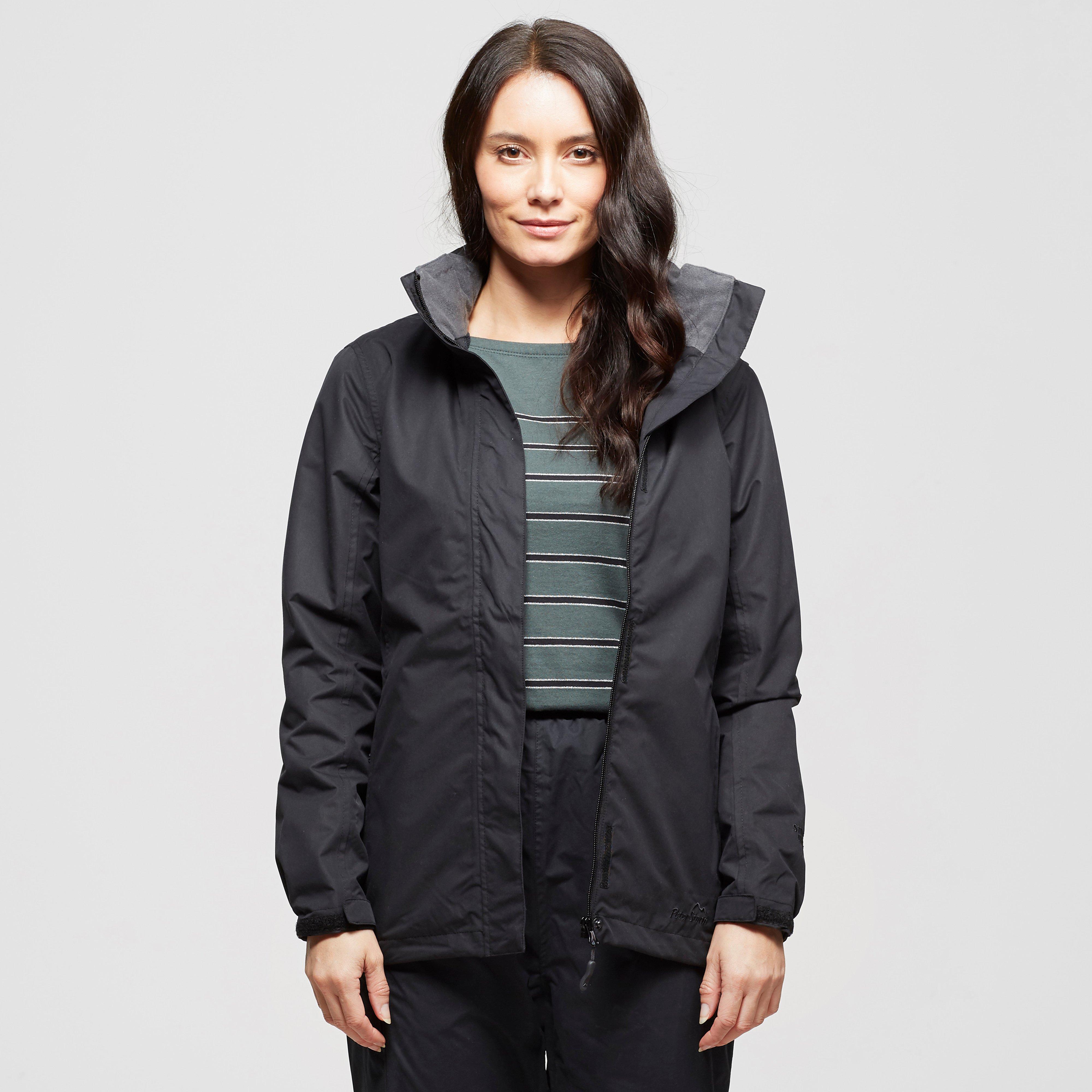 Peter Storm Peter Storm womens Downpour Waterproof Jacket - Black, Black