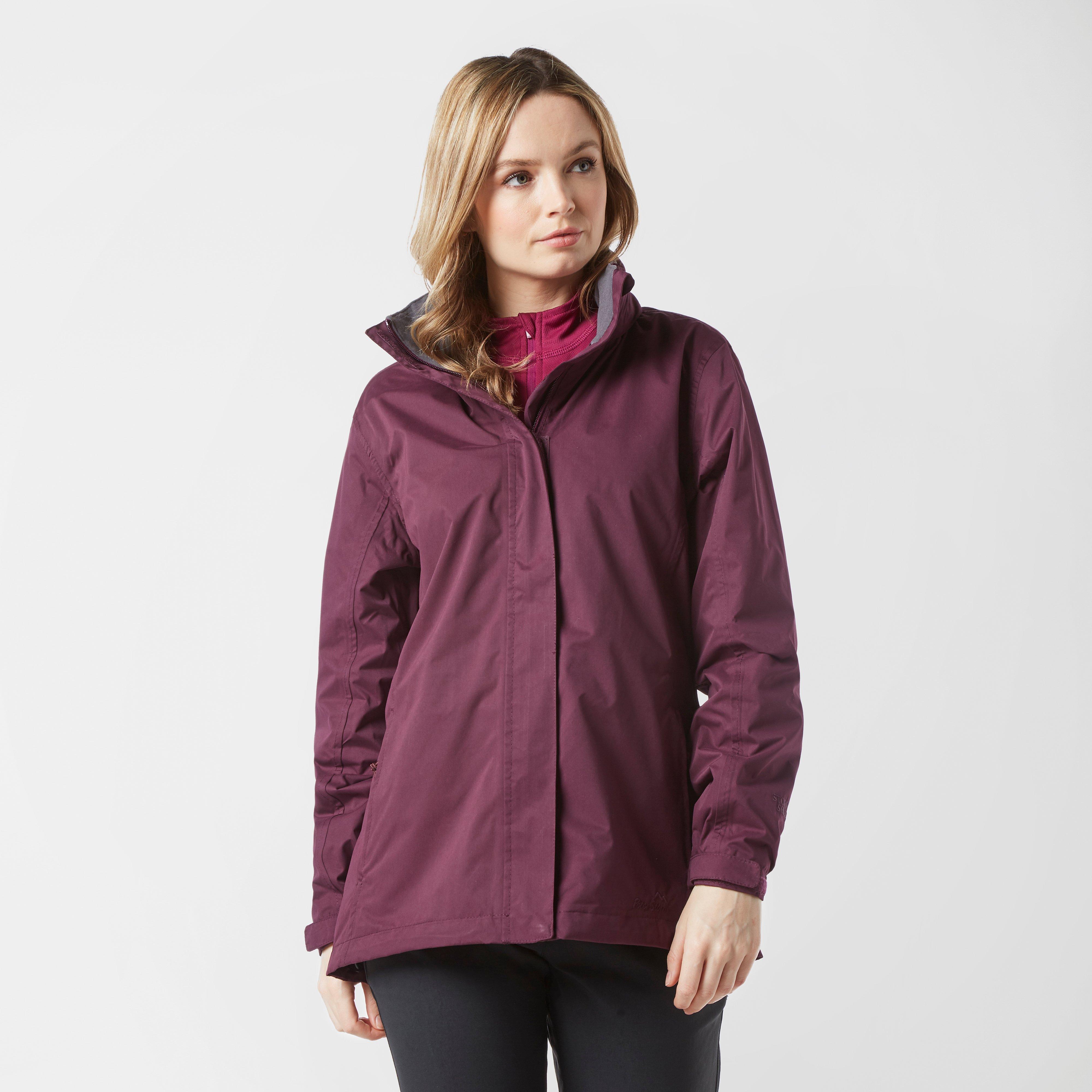 Peter Storm Peter Storm womens Downpour Waterproof Jacket - Purple, Purple