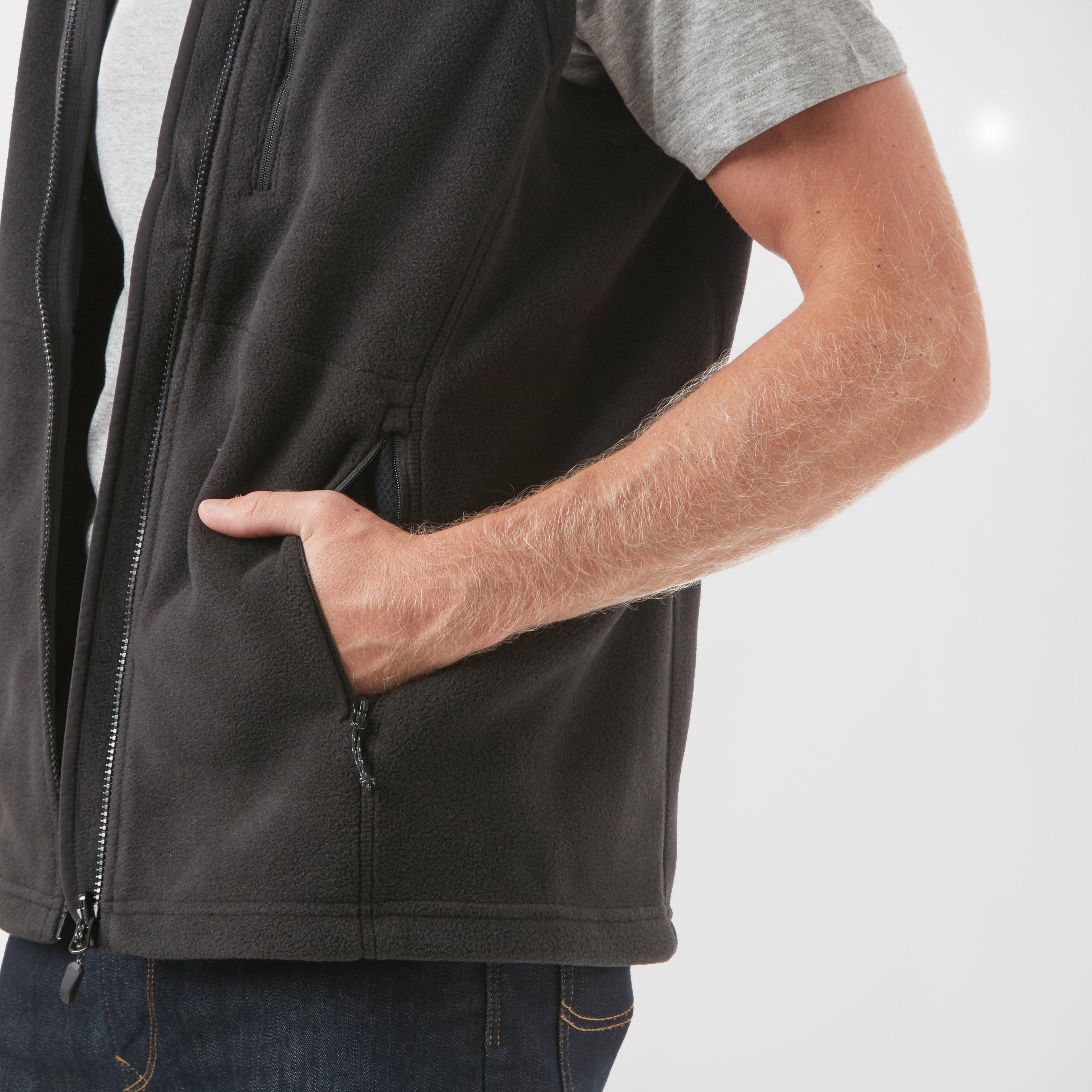 Black//Black Large Berghaus Men/'s Prism PolarTec Interactive Gilet Vest