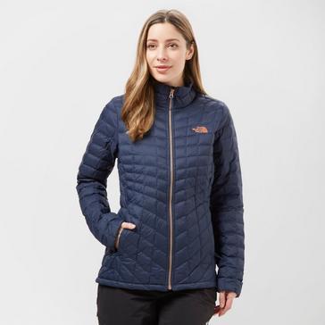 Womens North Face Jackets Coats Blacks