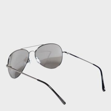 Grey|Grey Peter Storm Men's Aviator Sunglasses