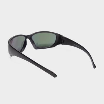 Black Peter Storm Boys Rounded Wrap-Around Sunglasses