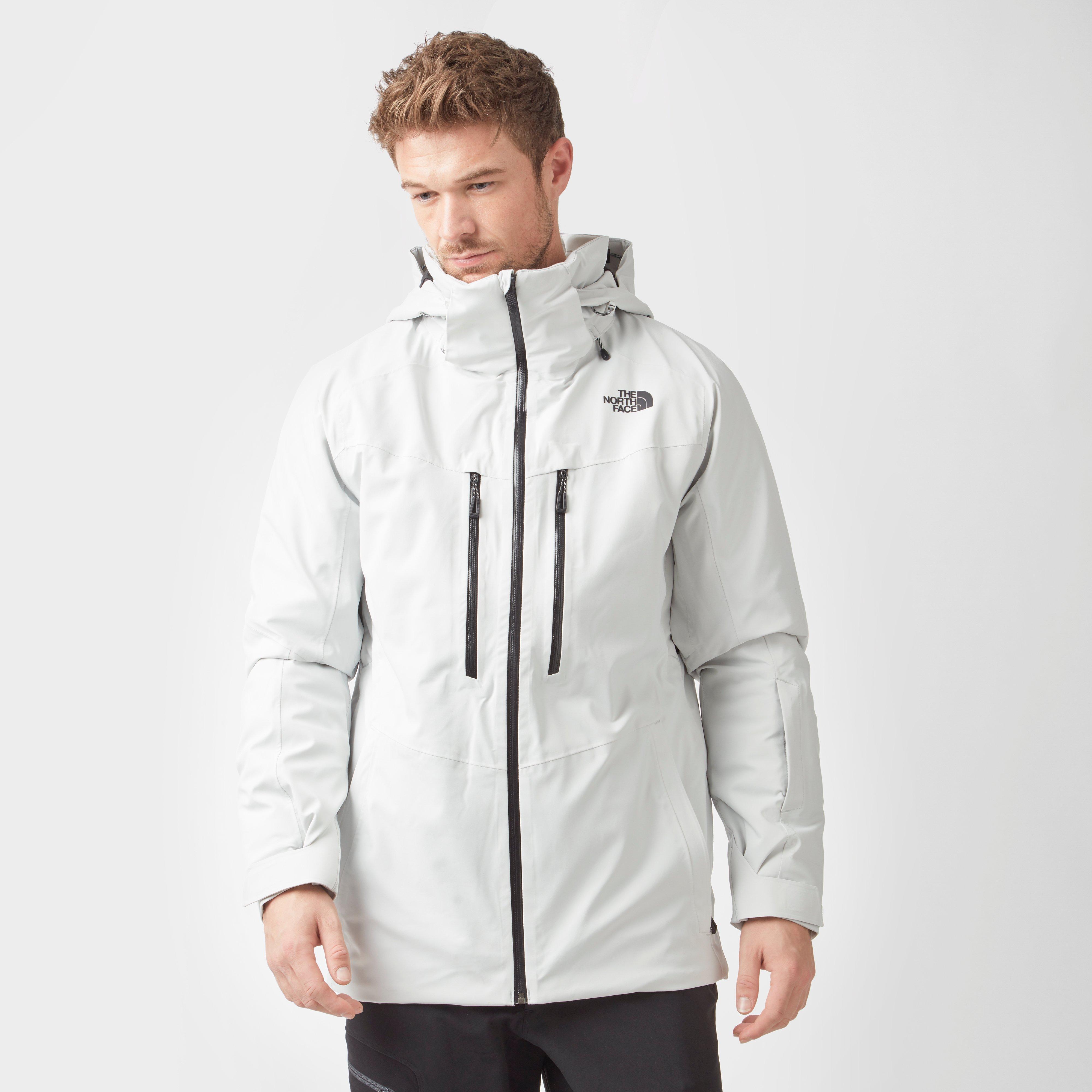 c0dc9756362a The North Face Men s Chakal Ski Jacket White