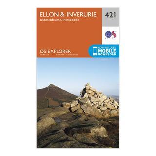 Explorer 421 Ellon & Inverurie Map With Digital Version