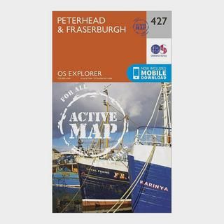 Explorer Active 427 Peterhead & Fraserburgh Map With Digital Version