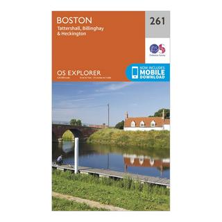 Explorer 261 Boston Map With Digital Version