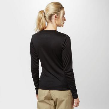 Black Peter Storm Women's Long Sleeve Thermal Crew Baselayer Top