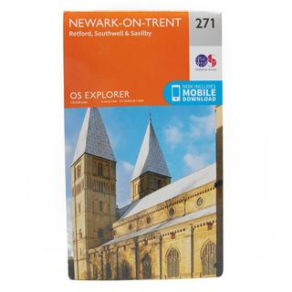 Explorer 271 Newark-on-Trent Map With Digital Version
