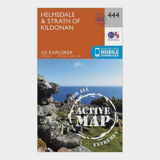 Explorer Active 444 Helmsdale & Strath of Kildonan Map With Digital Version
