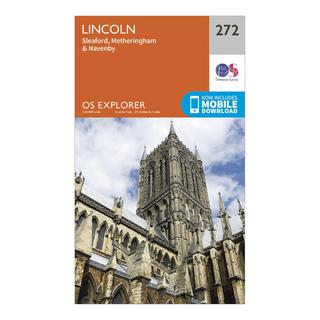 Explorer 272 Lincoln Map With Digital Version