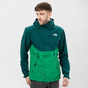 Green THE NORTH FACE Men s Mountain Light II Shell Jacket ... 4efbca00f498