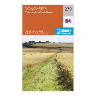 Explorer 279 Doncaster Map With Digital Version