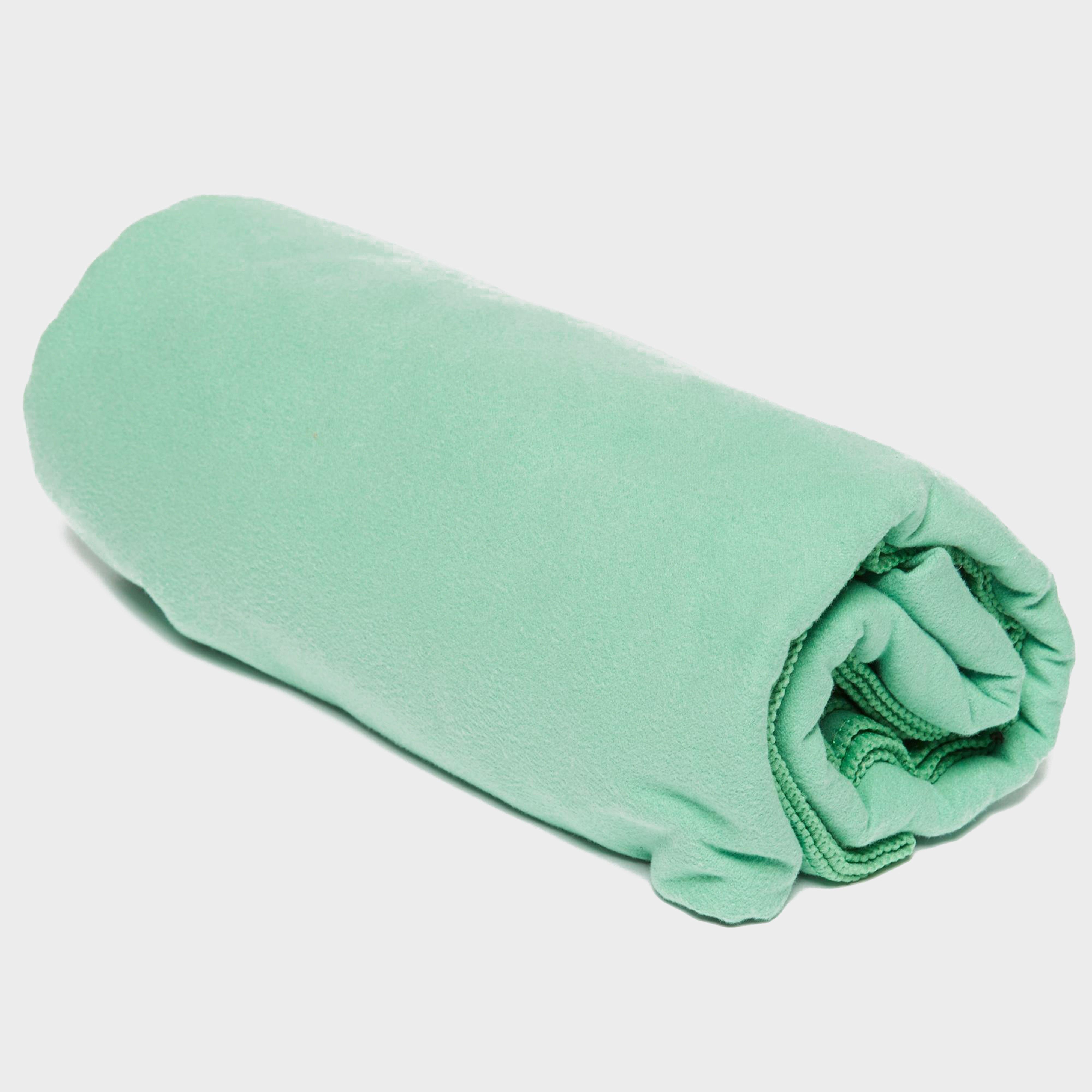Eurohike Eurohike Suede Microfibre Travel Towel - Large - Green, Green
