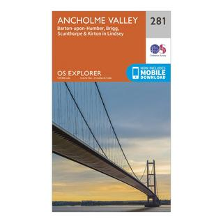Explorer 281 Ancholme Valley Map With Digital Version