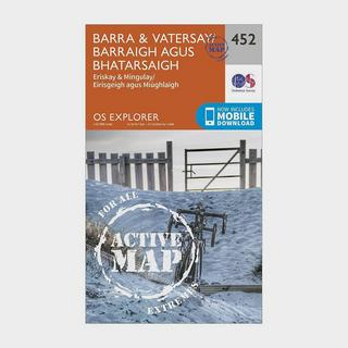 Explorer Active 452 Barra & Vatersay Map With Digital Version