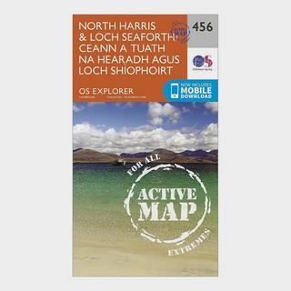 Explorer Active 284 North Harris & Loch Seaforth Map With Digital Version