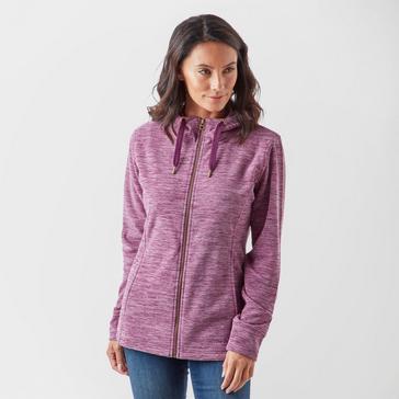 Purple Peter Storm Women's Marly Fleece