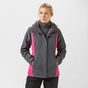 TECHNICALS Women's 3 in 1 Waterproof Jacket