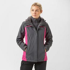 TECHNICALS Women's 3 in 1 Waterproof Jacket