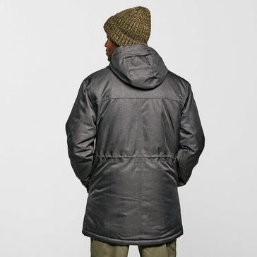 Mid Grey Peter Storm Men's Insulated Textured Jacket