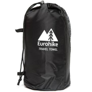 Blue Eurohike Terry Microfibre Travel Towel - Small