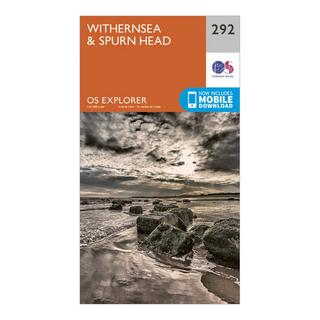 Explorer 292 Withernsea & Spurn Head Map With Digital Version