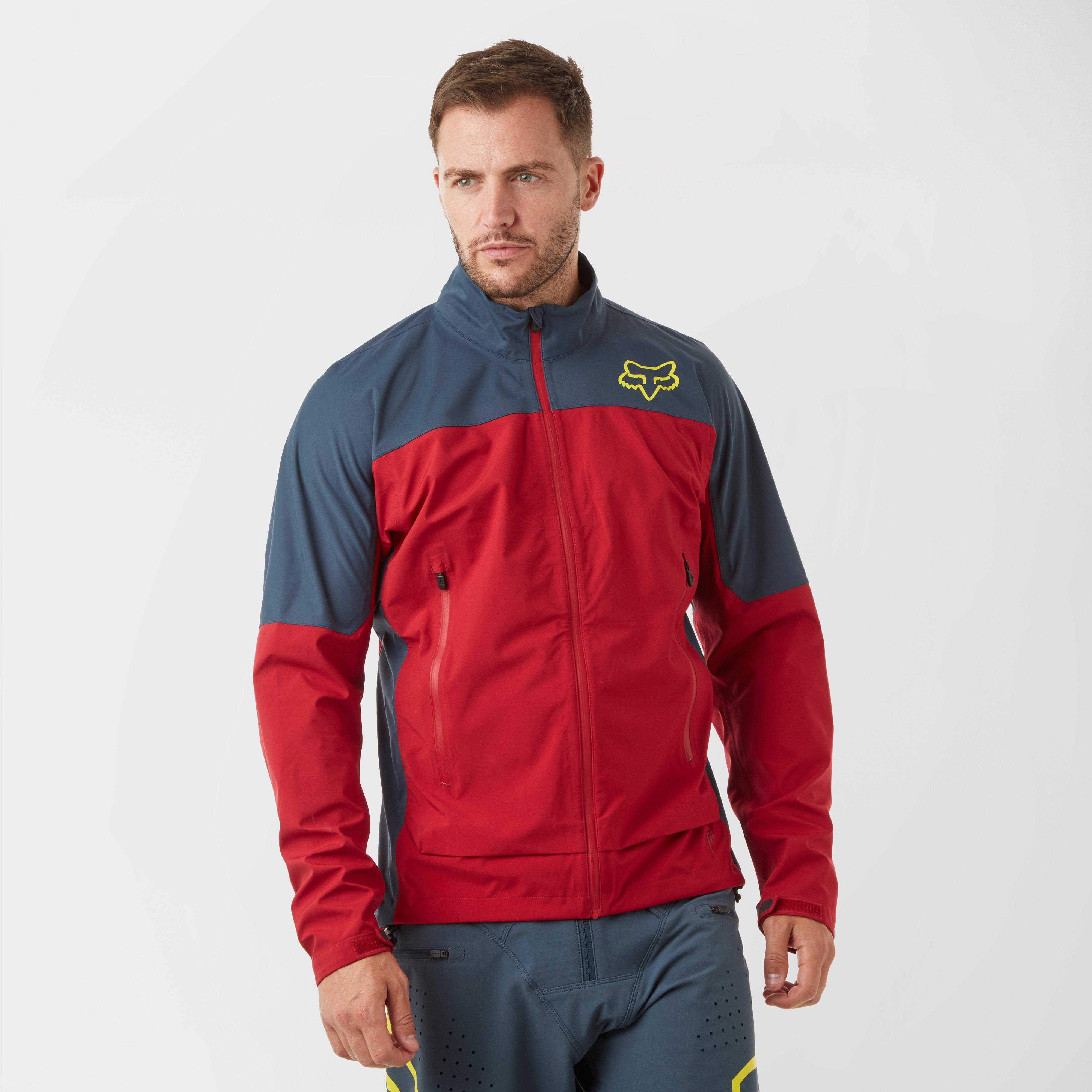 FOX Fox Mens Attack Water Jacket - Red, Red