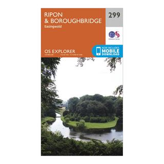 Explorer 299 Ripon & Boroughbridge Map With Digital Version