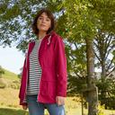 Dark Pink Peter Storm Women's Weekend Waterproof Jacket image 2